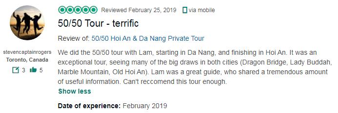 50/50 Tour - terrific