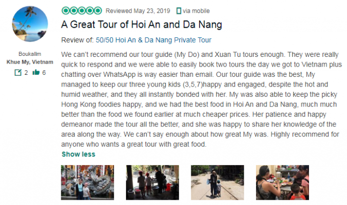 A Great Tour of Hoi An and Da Nang
