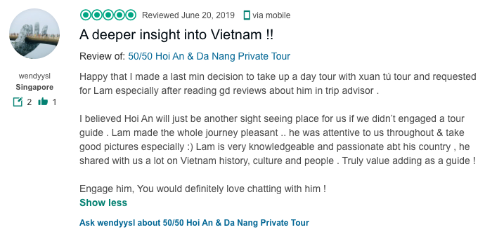 A deeper insight into Vietnam !!
