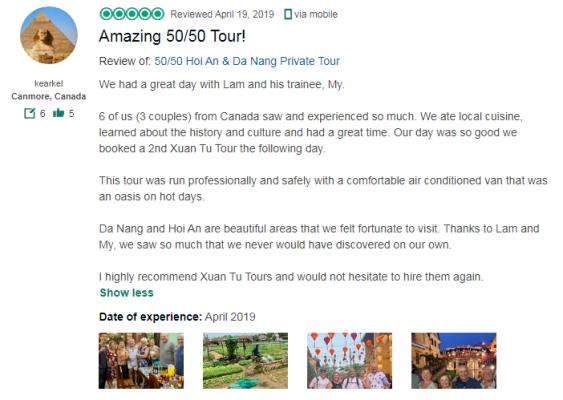 Amazing 50/50 Tour!