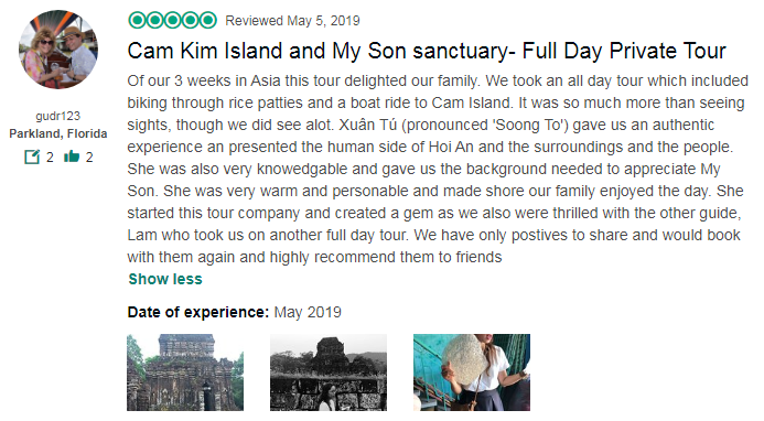 Cam Kim Island and My Son sanctuary- Full Day Private Tour