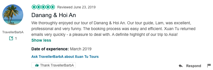 Danang city and Hoi an