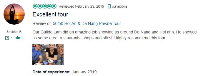 Excellent tour