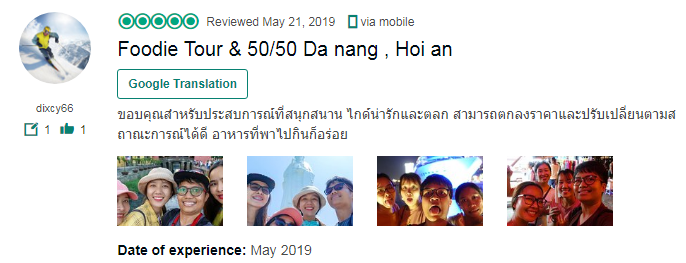 Foodie Tour & 50/50 Da nang , Hoi an