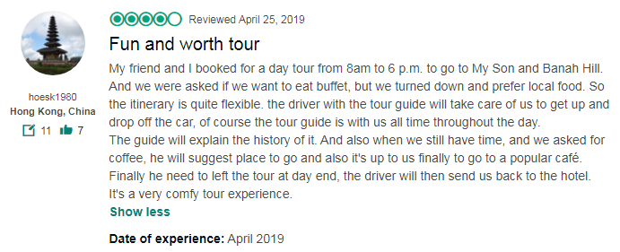 Fun and worth tour