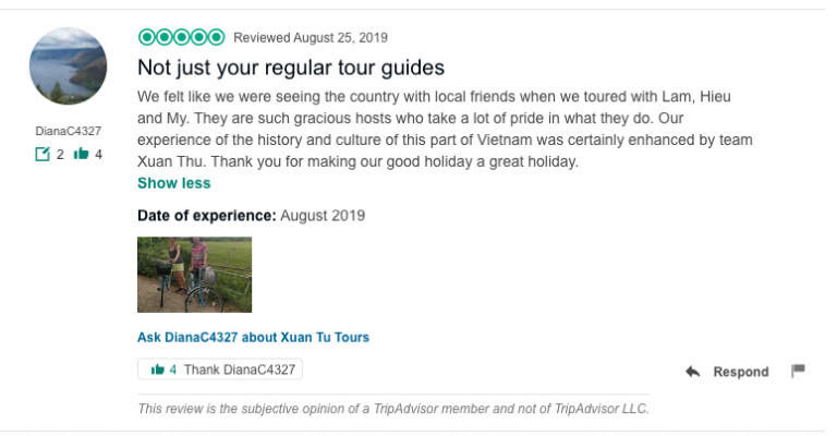 Not just your regular tour guides