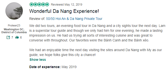 Wonderful Da Nang Experience!