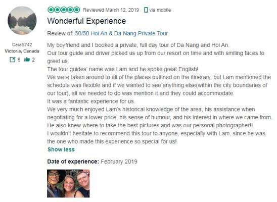 Wonderful Experience