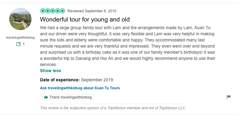 Wonderful tour for young and old