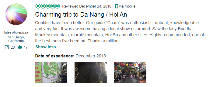 Charming trip to Da Nang / Hoi An