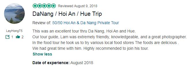DaNang / Hoi An / Hue Trip