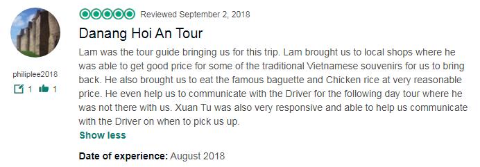 Danang Hoi An Tour