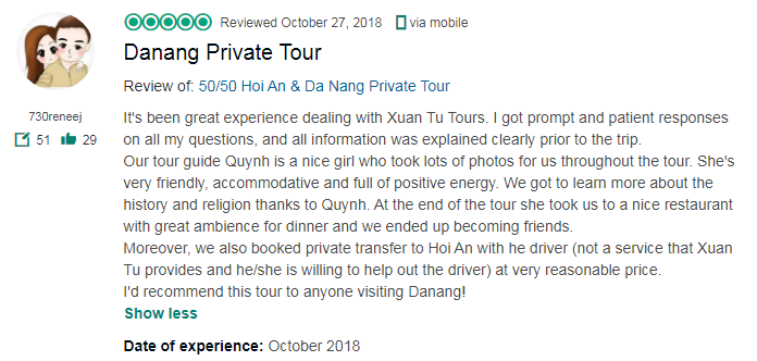 Danang Private Tour
