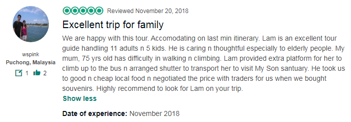 Excellent trip for family