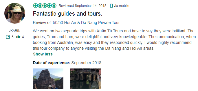 Fantastic guides and tours.