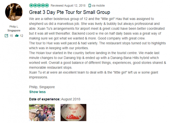 Great 3 Day Pte Tour for Small Group