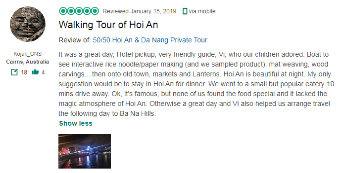 Walking Tour of Hoi An