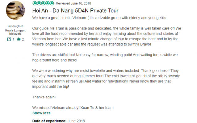 Hoi An - Da Nang 5D4N Private Tour