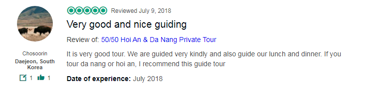 Very good and nice guiding